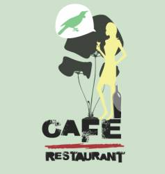 cafe restaurant vector image vector image