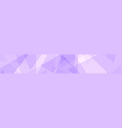 abstract banner of triangles vector image