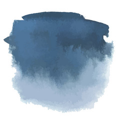 Blue gray watercolor hand drawn gradient banner vector