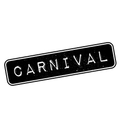 Carnival rubber stamp vector