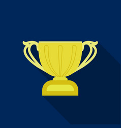 Challenge cup icon in flate style isolated on vector
