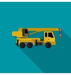 Crane flat icon vector image
