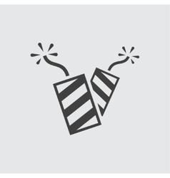 Firework icon vector image