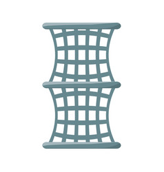 fishing net isolated vector image
