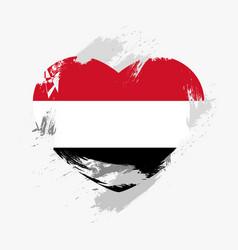 flag of yemen vector image