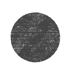 Grunge round circle shape dirty texture vector