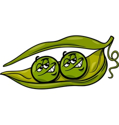 Like two peas in a pod cartoon vector