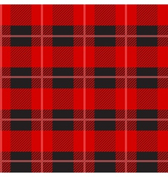 Red Tartan Plaid Pattern vector