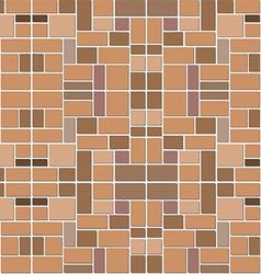 stone block patter shadow vector image vector image