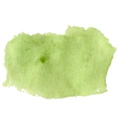 Light green watercolor art vector image