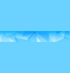 abstract banner of big stars vector image