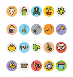 Agriculture Icons 6 vector
