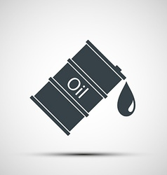 Icon barrels of oil vector