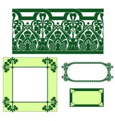 irish border vector image