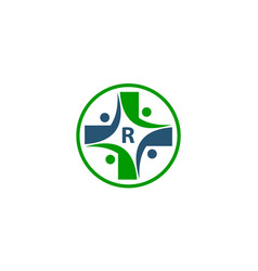 Medical group initial r vector