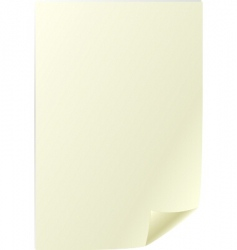 Parchment sheet vector