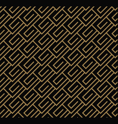 seamless geometric pattern by stripes line vector image