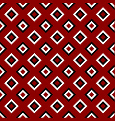 Simple seamless square pattern background design vector