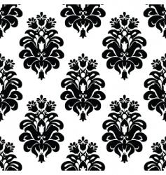 three tulip pattern vector image vector image