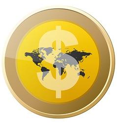 Money Coin vector image