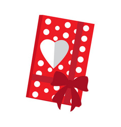 valentine day present vector image
