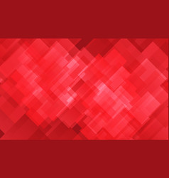abstract red tone mosaic pattern design vector image