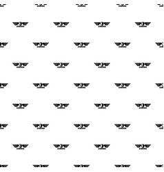 airborne wings pattern seamless vector image