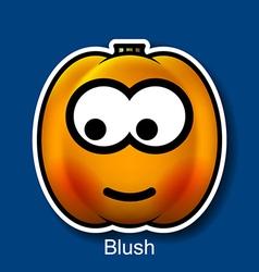 Blush vector image