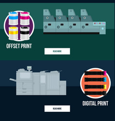 business technology concept vector image