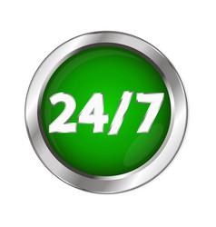 Button 24 open vector