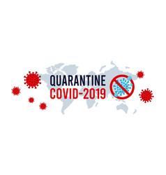 covid19-19 virus outbreak spread novel coronavirus vector image