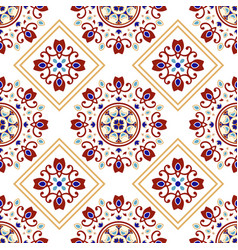 decorative tile design vector image