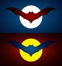 image of an bat design vector image
