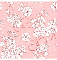Blossom Seamless vector image vector image