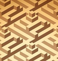 buildings pattern vector image vector image
