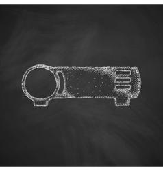 Cinema projector icon vector