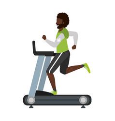 Fitness exercise cartoon vector