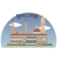 Nicosia vector image