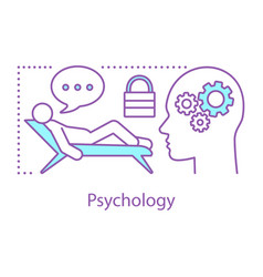 psychology concept icon vector image