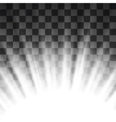 Stage spotlight background vector