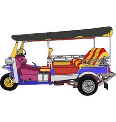 Taxi Thailand vector image