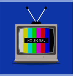 Tv does not receive tv signal vector