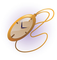 vintage watch vector image