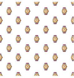 Watch pattern seamless vector