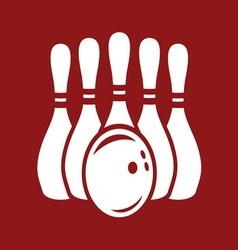 bowling stroj2 resize vector image vector image