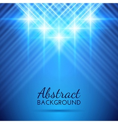 Abstract Background with Beautiful Rays of Light vector image