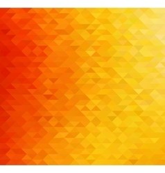 Abstract orange color background vector image