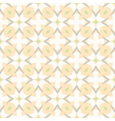 Pattern with bold geometric shapes in 1970s style vector image