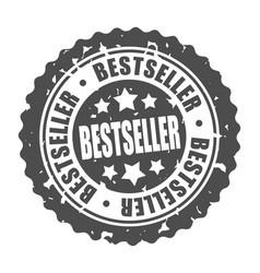 Round stamp bestseller vector