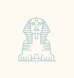 Sphinx Egypt vector